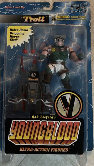 Rob Liefeld's Youngblood Ultra Action Figure: Troll (McFarlane Toys 1995) NOC for Sale in Santa Ana, CA