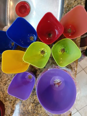 Plastic lamp shades for Sale in Boynton Beach, FL