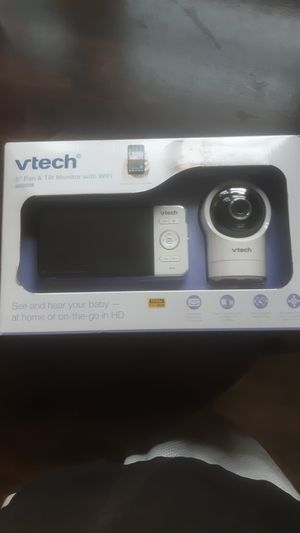 """Vtech 5"""" pan and tilt monitor with wifi. Brand new unopened for Sale in Springfield, MA"""