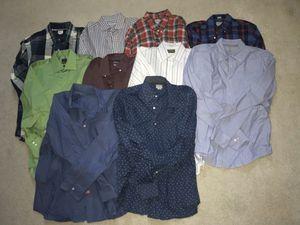 Men's long sleeve button down bundle (10) for Sale in Clovis, CA