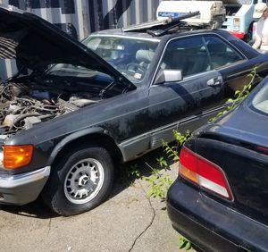 500sec parts mercedes benz for Sale in Torrington, CT
