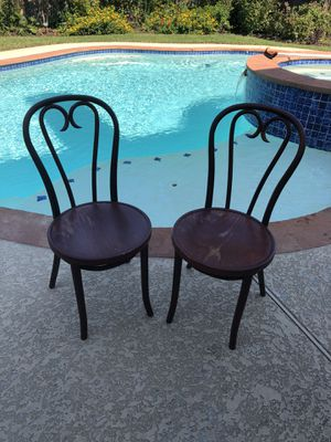 Old wooden chairs $30 for Sale in Houston, TX