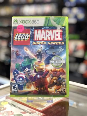 LEGO Marvel Super Heroes for the Xbox 360 for Sale in San Bernardino, CA