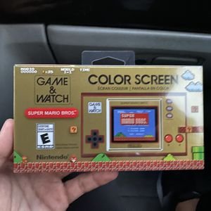 Brand New Nintendo Game And Watch for Sale in Miami, FL