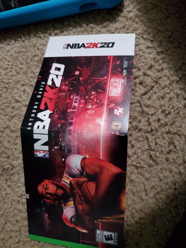 NBA 2k20 game code