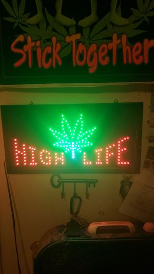 It's a light up HIGH LIFE light that blinks and is perfect for a homemade bar or mens den! Asking $40. $30 if u come to me in mesa for Sale in Mesa, AZ