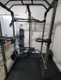 Power Rack with High and Low Cable Attachment for Sale in Mount Vernon,  NY