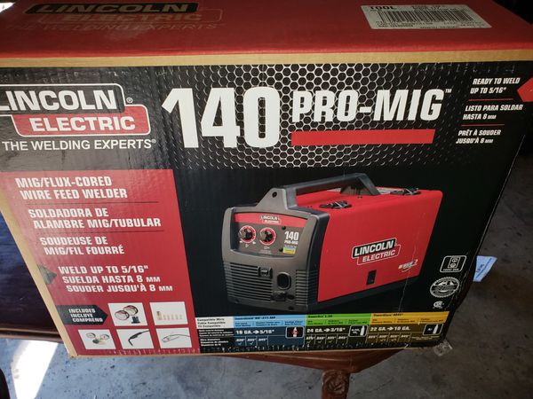 LINCOLN 140 PRO-MIG BRAND NEW NEVER OPENED