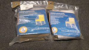 """Chair Covers, protects from dust, dirt, sun and rain. 40"""" w 40"""" × 36"""", 2 total included, New $15. Great for patio furniture for Sale in Jacksonville, FL"""