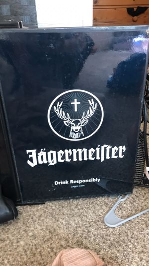 Jagermeirter collectible mini fridge serious buyers only for Sale in Encinitas, CA