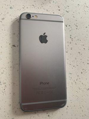 IPHONE 6. 16gb . Excellent condition. No cracks or scratches! Silver ! Unlocked! $140 for Sale in Boca Raton, FL