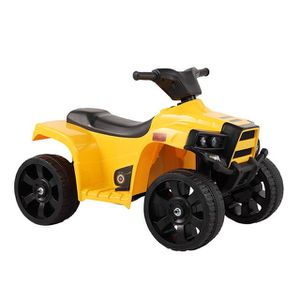 Brand New Yellow Kids 4Wheel Ride Electric Powered ATV All Terrain Vehicle With LED Lights for Sale in Los Angeles, CA