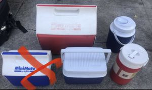 Lunch coolers and jugs for Sale in Los Angeles, CA