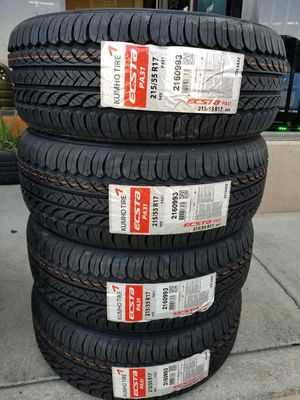 215 55 17 KUMHO ECSTA NEW TIRES for Sale in Colton, CA
