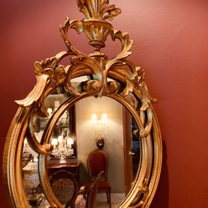 GOLD LEAF ITALIAN WALL MIRROR | Decorative Vintage | Antique for Sale in Miami, FL