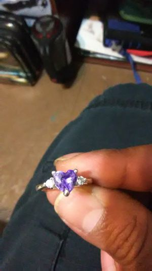 Striling silver heart ring for Sale in Canyon, TX
