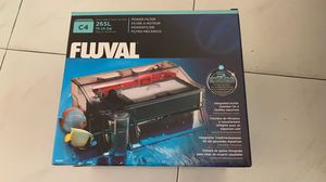 Fluval C4 Aquarium Fish Tank Filter - Brand New Sealed in Box for Sale in New York, NY