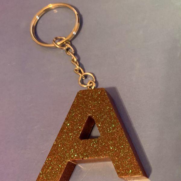 "Custom Made Keychains ""A"""