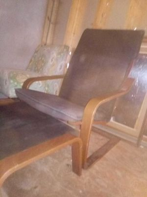 Nice tv chair and foot rest for Sale in Austin, TX