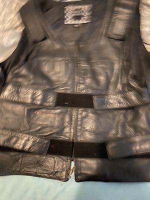 motorcycle leather vest size xxl for Sale in Glassboro, NJ