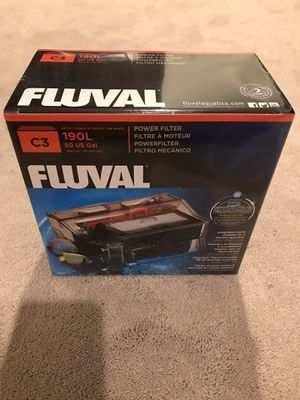 Fluval C3 Power Filter Aquarium HOB (Brand New..!) for Sale in Orange, CA