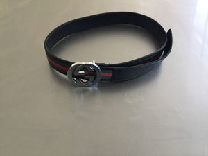 Men's Gucci Belt size 95/38 (fits American size 32-34) for Sale in San Diego, CA