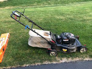 Craftsman Platinum Lawn Mower for Sale in Glen Ellyn, IL