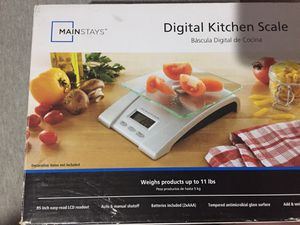 Kitchen scale , jars, and medical labels for Sale in Philadelphia, PA