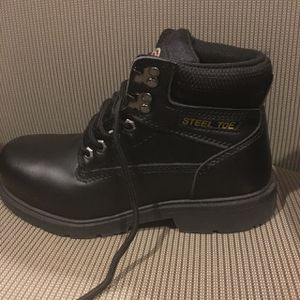 Steel toe work boots for Sale in Clarksville, MD