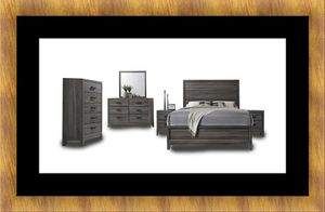 11pc Kate bedroom set with mattress for Sale in Oxon Hill, MD