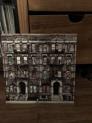 Led Zeppelin physical graffiti on vinyl for Sale in Seattle, WA