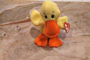 Quackery 1994 Beanie Baby Duck Yellow for Sale in Herndon, VA