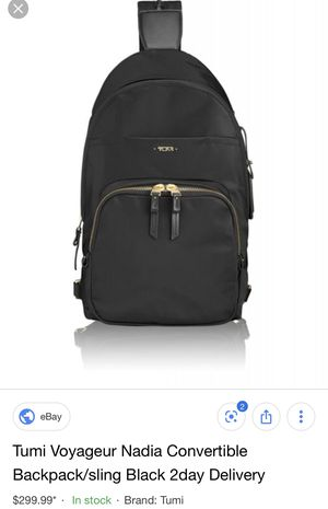TUMI WOMENS BACKPACK for Sale in Palm Desert, CA