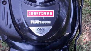 CRAFTSMAN PLATINUM 190 CC SELFPROPELLED. HIGH REAR WHEELS AND A BAG for Sale in Piedmont, SC