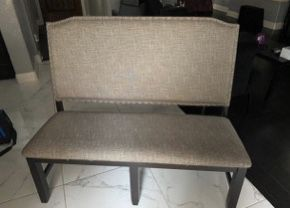 Grey Decorative Bench for Sale in Walnut, CA