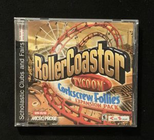 Roller Coaster Tycoon Corkscrew Follies for Sale in Lawrenceville, GA