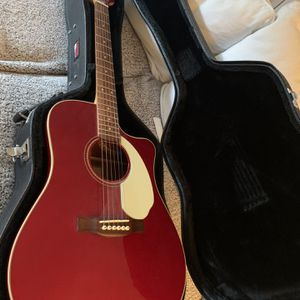 Fender Sonoran Acoustic/Electric GUITAR for Sale in Humble, TX