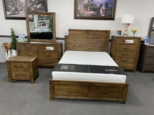 4-Pc Queen Bedroom Set ON SALE🔥 for Sale in Fresno, CA