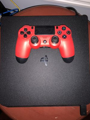 PS4 Slim with controller, (1TB, Like New) for Sale in Fremont, CA