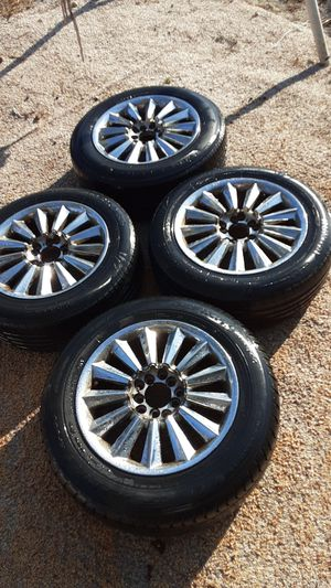 After market rims with tires for Sale in Haines City, FL