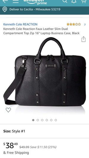 Laptop Bag - Kenneth Cole for Sale in Milwaukee, WI