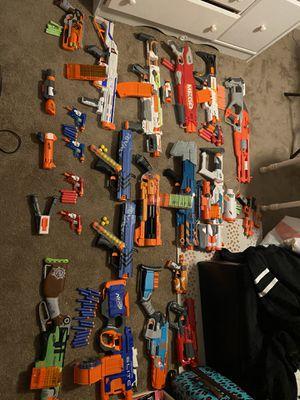 Lot of Nerf Guns for Sale in Virginia Beach, VA