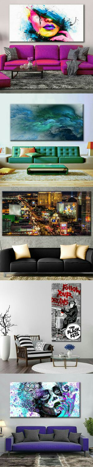 Abstract Modern Framed Wall Art painting Print Canvas Home Decor for Sale in Las Vegas, NV