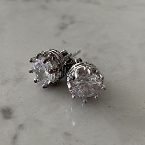 Juicy Couture Diamond Crown Earring Studs for Sale in Irvine, CA