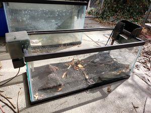 20 gallon long aquarium for Sale in Longmont, CO
