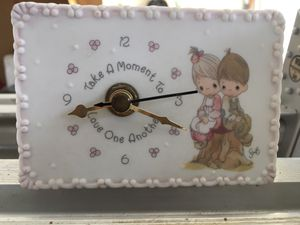 Precious Moments Mini Desk Clock for Sale in Clermont, FL