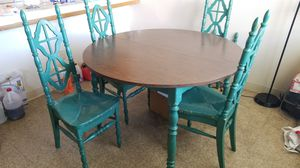5 pc. Dining Table set for Sale in Porterville, CA