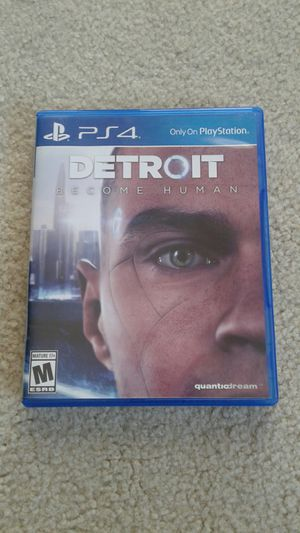 Ps4 Detroit Become Human for Sale in Chino, CA