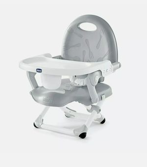 Chicco Pocket Snack Booster Seat, Grey Baby Feeding Chair for Sale in Santa Ana, CA