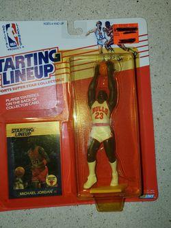 Michael Jordan And Kobe Bryant Starting Lineup for Sale in Spartanburg,  SC